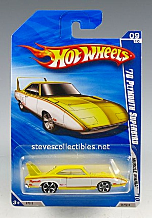 1970 PLYMOUTH SUPERBIRD Hot Wheels Diecast Toy  MOC (Image1)