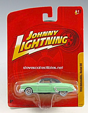 1950 Oldsmobile Rocket 88 Johnny Lightning Diecast Toy