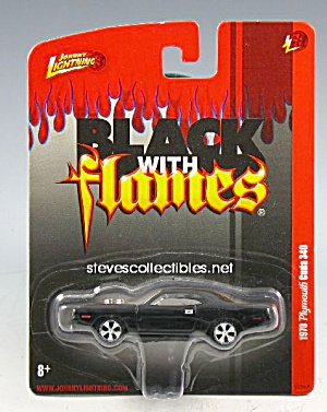 1970 PLYMOUTH CUDA 340 Johnny Lightning Diecast Toy (Image1)