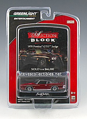 1970 Pontiac Gto Judge Diecast Toy Barrett-jackson