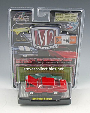 1966 DODGE CHARGER Diecast Toy M2 Detroit Muscle (Image1)