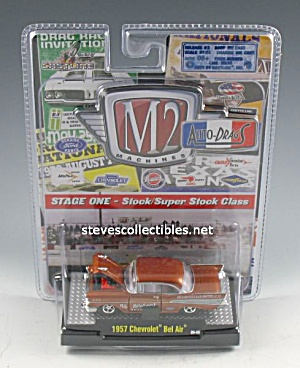 1957 Chevy Bel Air Diecast Toy M2 Auto-drags