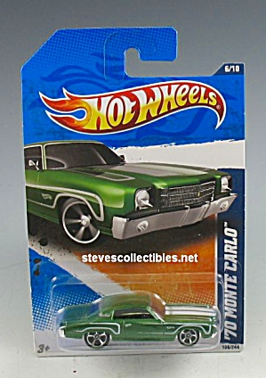 1970 CHEVROLET MONTE CARLO Hot Wheels Toy  MOC (Image1)
