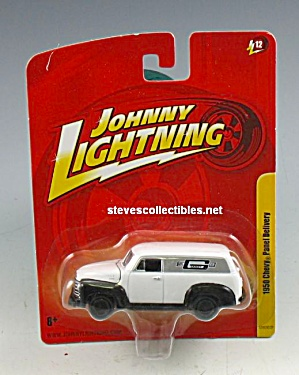 1950 CHEVY PANEL TRUCK Johnny Lightning Diecast Toy (Image1)