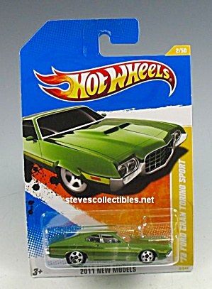 1972 FORD GRAN TORINO SPORT Hot Wheels Toy  MOC (Image1)