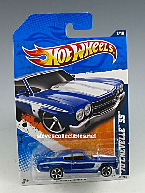 1970 CHEVY CHEVELLE SS Hot Wheels Toy  MOC (Image1)