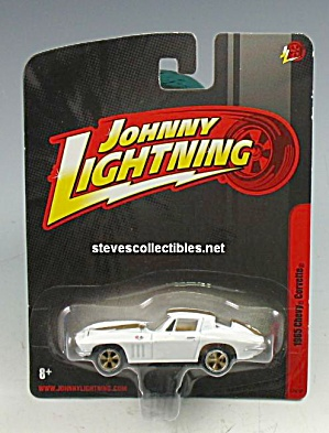 1965 CHEVY CORVETTE Johnny Lightning Diecast Toy (Image1)