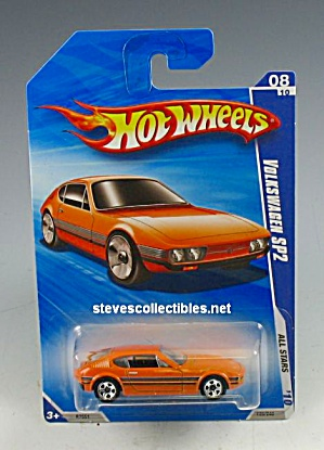 Volkswagen Sp2 Sports Car Hot Wheels Toy Moc