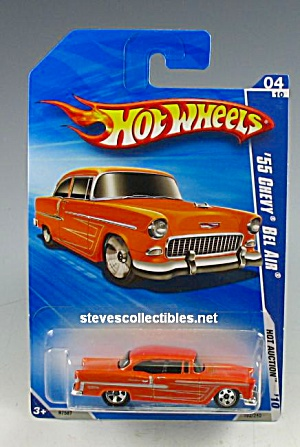 1955 Chevy Bel Air Hot Wheels Toy Moc
