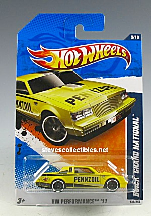 1982 BUICK REGAL GRAND NATIONAL Hot Wheels Toy  MOC (Image1)