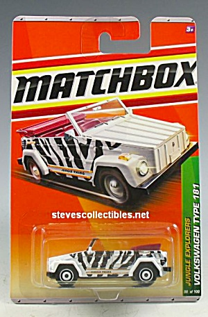 Volkswagen Vw Thing Type 181 Matchbox Toy Moc