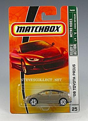 2008 TOYOTA PRIUS Matchbox Toy  MOC (Image1)