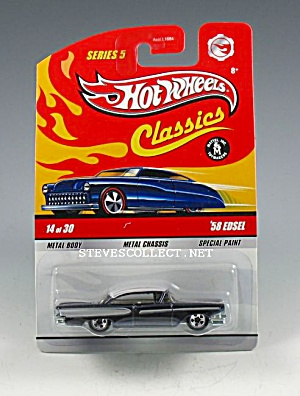 1958 EDSEL Hot Wheels CLASSICS Toy MOC (Image1)