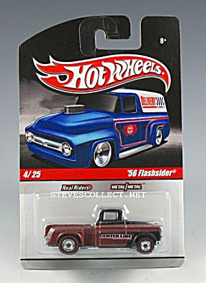 1956 CHEVY FLASHSIDER PICKUP TRUCK Hot Wheels Toy MOC (Image1)