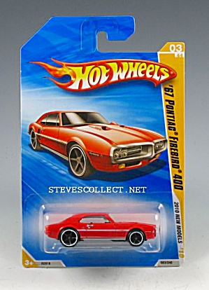 1967 PONTIAC FIREBIRD 400 Hot Wheels Toy  MOC (Image1)