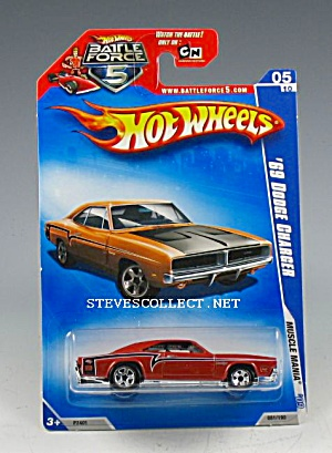 1969 DODGE CHARGER Hot Wheels Toy  MOC (Image1)