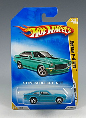 1971-73 CHEVY VEGA V-8 CUSTOM Hot Wheels Toy  MOC (Image1)