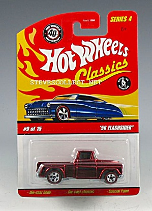 1956 CHEVY FLASHSIDER Hot Wheels Toy  MOC (Image1)