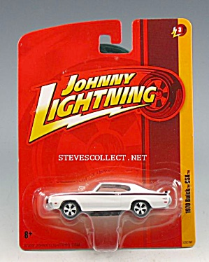 1970 BUICK GSX Johnny Lightning Diecast Toy (Image1)