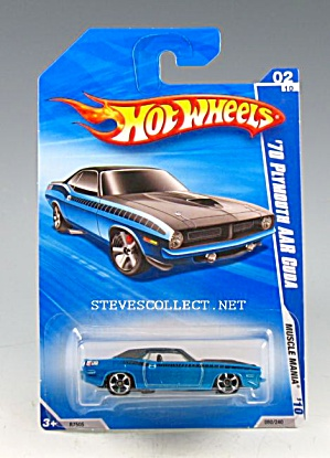 1970 PLYMOUTH AAR CUDA Hot Wheels Toy  MOC (Image1)