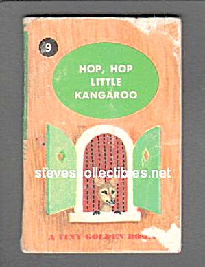 HOP, HOP LITTLE KANGAROO Tiny Golden Book - 1948 (Image1)