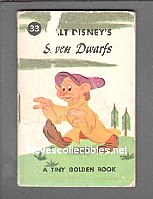 Disney Dopey And The Wicked Witch - Tiny Golden Book