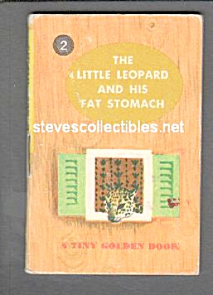 Little Leopard And His Fat Stomach - Tiny Golden Book