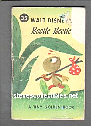 Disney  BOOTLE BEETLE'S ADVENTURES - Tiny Golden Book (Image1)