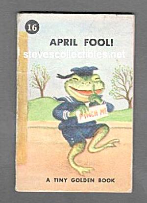 APRIL FOOL! Tiny Golden Book - 1949 (Image1)
