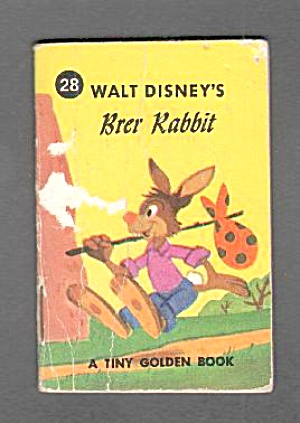 Disney BRER RABBIT PLAYS A TRICK - Tiny Golden Book (Image1)
