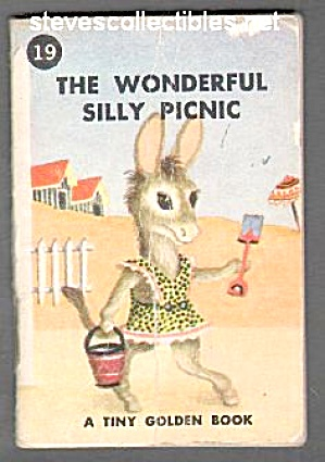 THE WONDERFUL SILLY PICNIC Tiny Golden Book - 1949 (Image1)