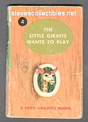 LITTLE GIRAFFE WANTS TO PLAY - Tiny Golden Book (Image1)