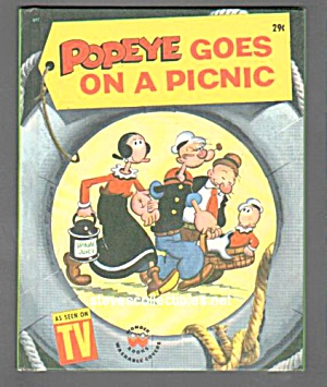 POPEYE GOES ON A PICNIC Wonder Book (Image1)