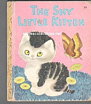 Shy Little Kitten - Little Golden Book