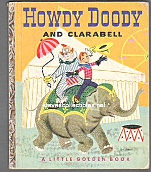 HOWDY DOODY AND CLARABELL Little Golden Book (Image1)