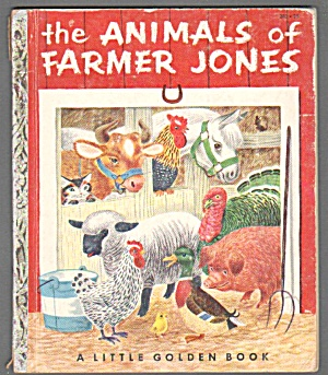 ANIMALS OF FARMER JONES Little Golden Book - Scarry (Image1)