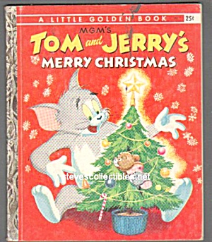TOM AND JERRYS MERRY CHRISTMAS - Little Golden Book (Image1)