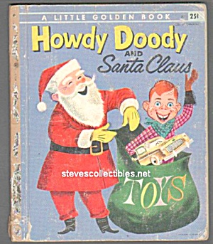 HOWDY DOODY AND SANTA CLAUS - Little Golden Book (Image1)