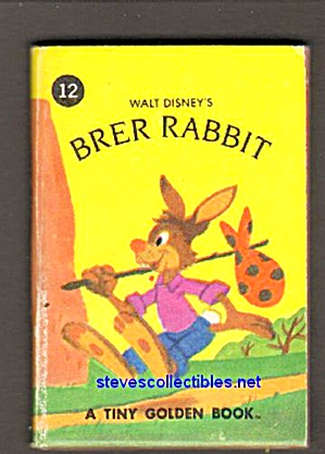 Disney Brer Rabbit Plays A Trick - Tiny Golden Book