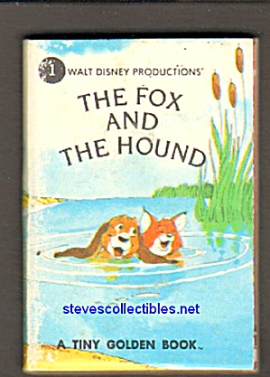Disney The Fox And The Hound - Tiny Golden Book