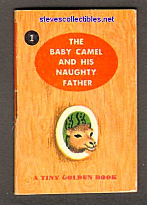 BABY CAMEL AND HIS NAUGHTY FATHER Tiny Golden Book (Image1)