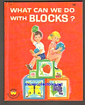 What Can We Do With Blocks? Wonder Book #833