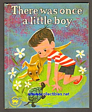 There Was Once A Little Boy - Wonder Book 1959