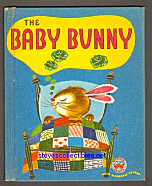 The Baby Bunny Wonder Book #548