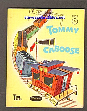 Tommy Caboose Tiny Tales Book - 1950
