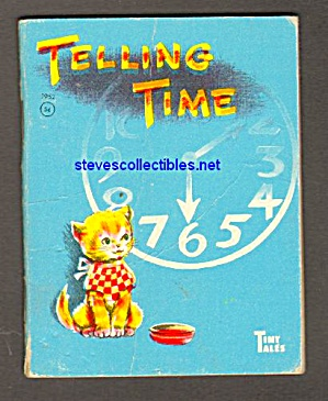 Telling Time Tiny Tales Book -1959