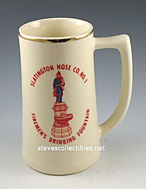 Mug - Stein - Slatington Hose Co. No. 1 Pa Fire 1980