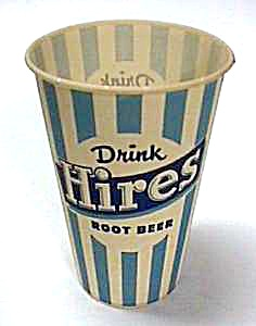 1960s Hires Rootbeer Advertising Cup L@@k