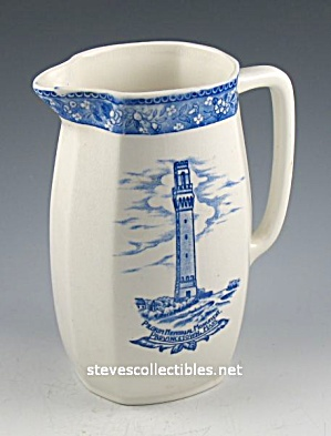 Early Provincetown Massachusetts Commemorative Souvenir Pitcher