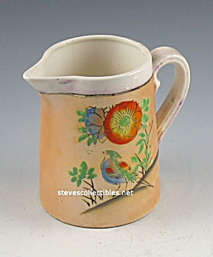 Vintage Luster Ware Japan Hand-painted Creamer (Image1)